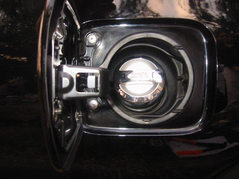 Install of TRD Fuel Door Toyota Celica DIY