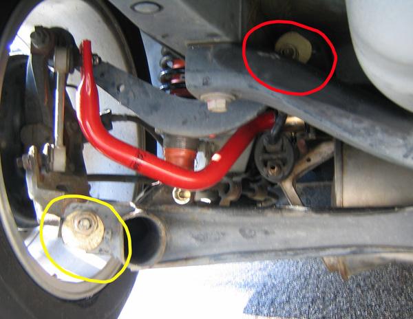Diy Alignment Kit >> Rear Camber/Toe Adjustment | Toyota Celica DIY