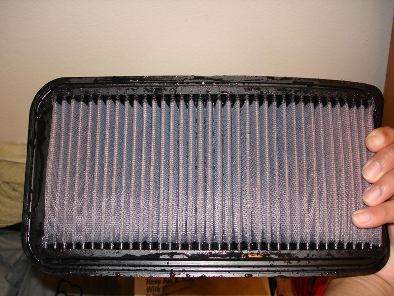 08eb603338b3be48d5ca51e69e3d96ff  Drop-In filter Clean and Re-oil