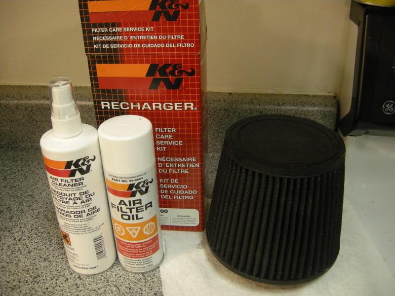 67de94a30c9015102ff286895474b01a  Clean and Reoil Air Filter