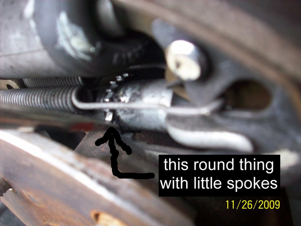 70e6e13712ecb4da7a5b4b60c7d7a39f  Removing, cleaning and adjusting rear drum brakes