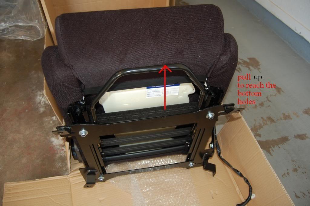 8f7240237bb64912da30085cff0e3a1b  Installing Racing / Bucket Seats