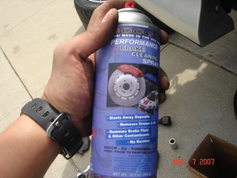 9983cbd0635fe14f9f78a2035f02b6b7  Rotor install