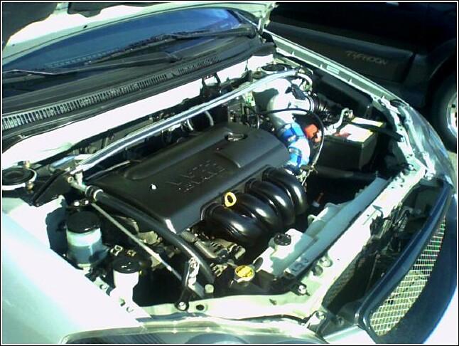 a02b5b35fe8a7ddc40e40f45d92092e7  Clean engine bay