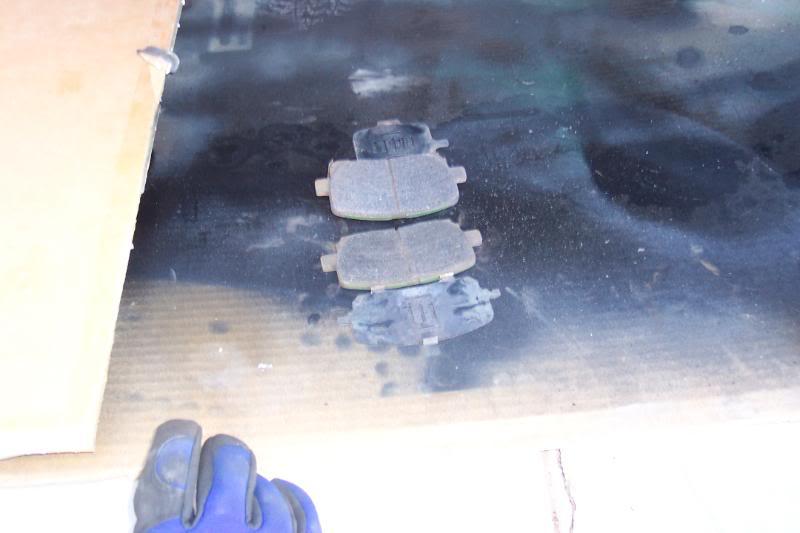 b4ad92f7cfa08ad4a0041d0b35de8dd9  Replace front brake pads