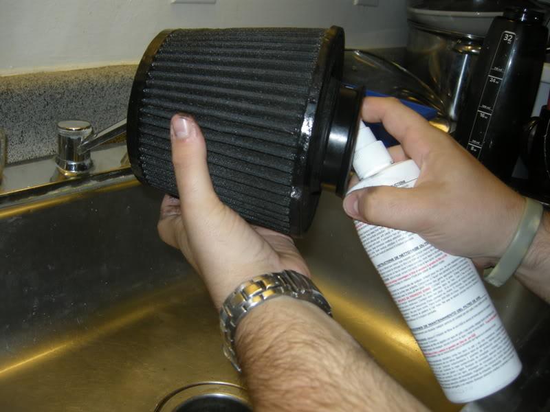 e7c940904ca259353d4220668a87cb90  Clean and Reoil Air Filter
