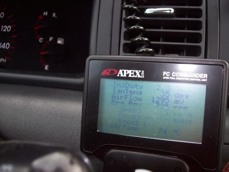 ed9d63cedb4caafd4fcf363ec752d174  Apexi Power FC on Corolla XRS (with Red-frau Harness)