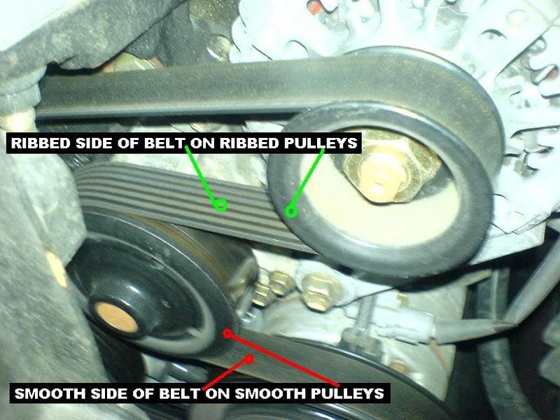 Replacing The 1zz Fe Serpentine Belt Toyota Corolla Diy