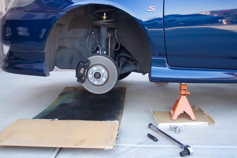 Replace Front Brake Pads Toyota Corolla Diy