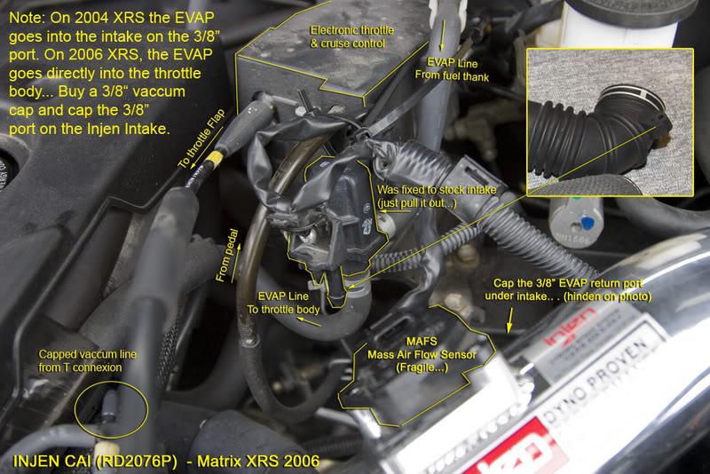 9f1032510ec3543efd05716f3b8567ac  Install Injen Cai On Matrix Xrs 2006, Injen CAI